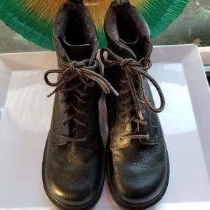 Dr Martens Women's Dharma Black Combat Boots
